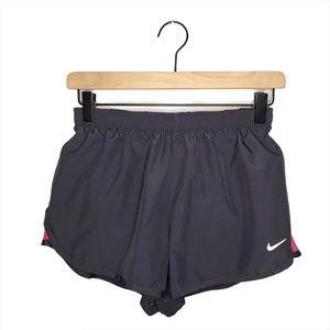 Nike Dri-Fit Gray Running Shorts S
